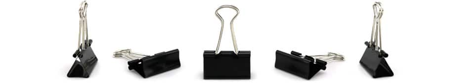 Binder Clips | Black