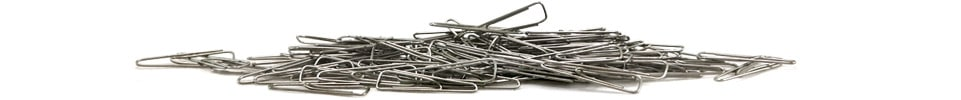 Silver Paper Clips