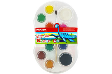12 Color Water Color